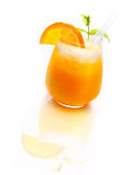 Refreshing Orange Cocktail Royalty Free Stock Images