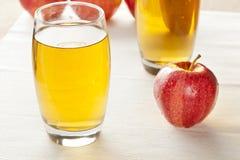 Refreshing Organic Apple Juice Royalty Free Stock Photo