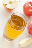 Refreshing Organic Apple Juice Royalty Free Stock Photos