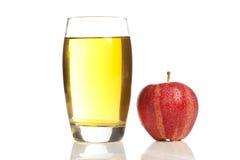 Refreshing Organic Apple Juice Royalty Free Stock Photography