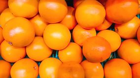 REFRESHING ORGANIC AND JUICY RIPE ORANGES royalty free stock photos