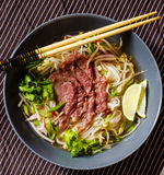 Refreshing Pho Bo stock photos