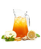 Refreshing punch Stock Photography