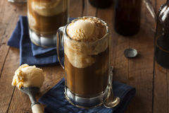 Refreshing Root Beer Float Royalty Free Stock Photography