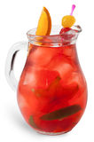 Refreshing sangria (punch) Royalty Free Stock Photography
