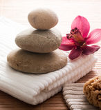 Zen detox from home Royalty Free Stock Photography