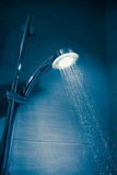 Refreshing shower Stock Images