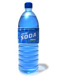 Refreshing soda drink in plastic bottle Stock Photography