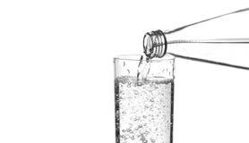 Refreshing sparkling water Stock Image