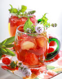 Refreshing summer drink Royalty Free Stock Photography