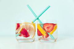 Refreshing summer drink Royalty Free Stock Image