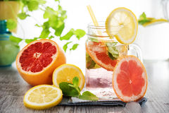 Refreshing summer drink Stock Photography