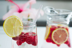 Refreshing Summer Drinks Royalty Free Stock Photography