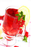 Refreshing summer ice tea Stock Photo