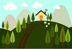 Refreshing view vector illustration