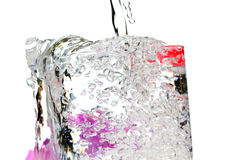 Refreshing water Royalty Free Stock Photography