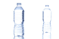 Refreshing water in a bottle Royalty Free Stock Images