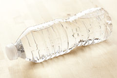 Refreshing water in a bottle Stock Photography