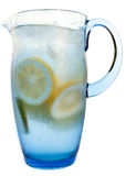 Refreshing water pitcher Royalty Free Stock Photo