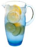 Refreshing water pitcher Stock Image