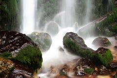 Refreshing Waterfall Stock Photography