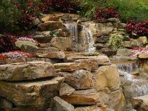Refreshing waterfall Royalty Free Stock Photos