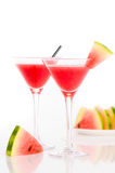 Refreshing Watermelon Drink Stock Images