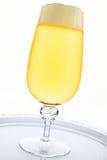 Refreshing yellow beer Royalty Free Stock Image