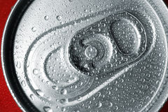 Refreshment can tab Royalty Free Stock Images