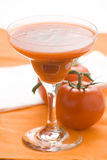 Refreshment and healthy diet drink tomato juice Stock Photo