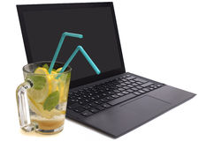 Refreshment at office Stock Images