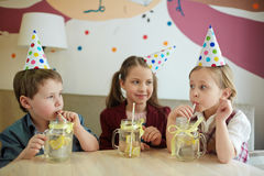 Refreshment at party Royalty Free Stock Image