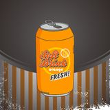 Refreshment soda Royalty Free Stock Image