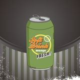 Refreshment soda Stock Image