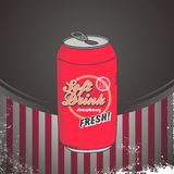 Refreshment soda Royalty Free Stock Photo