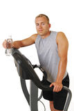 Refreshment after workout Stock Photos