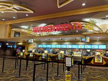 Free Refreshments Stand At Regal Movie Theater Stock Photos - 130493743