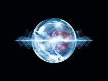 Refresque la partícula de la onda Foto de archivo libre de regalías