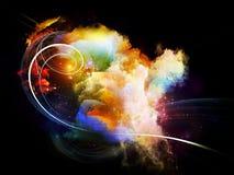 Refresque las nebulosas del diseño Imagen de archivo libre de regalías