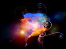 Refresque las nebulosas del diseño Foto de archivo