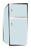 Refrigerador Imagens de Stock
