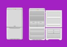 refrigerador Imagen de archivo