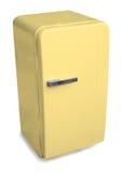 Refrigerador clásico Foto de archivo