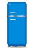 Refrigerador clásico stock de ilustración