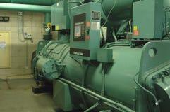 Refrigerador de agua comercial Imágenes de archivo libres de regalías