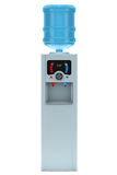 Refrigerador de agua eléctrico con la botella Imágenes de archivo libres de regalías