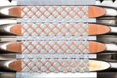 Refrigerador de aluminio de la CPU Imagen de archivo