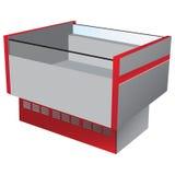Refrigerador de la baja temperatura Imagen de archivo libre de regalías