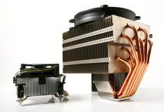 Refrigerador de la CPU Imagen de archivo libre de regalías