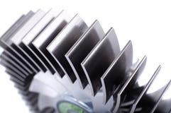 Refrigerador de la CPU de Alluminium Imágenes de archivo libres de regalías